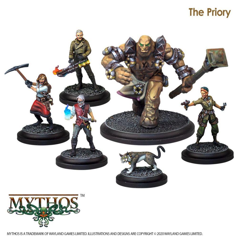 Mythos: The Priory Faction Starter Set