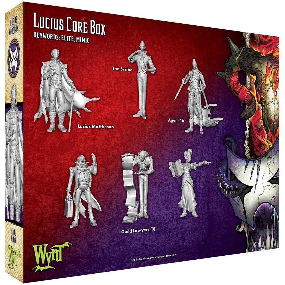 Lucius Core Box - M3e Malifaux 3rd Edition