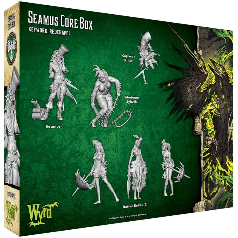 Seamus Core Box - M3e Malifaux 3rd Edition