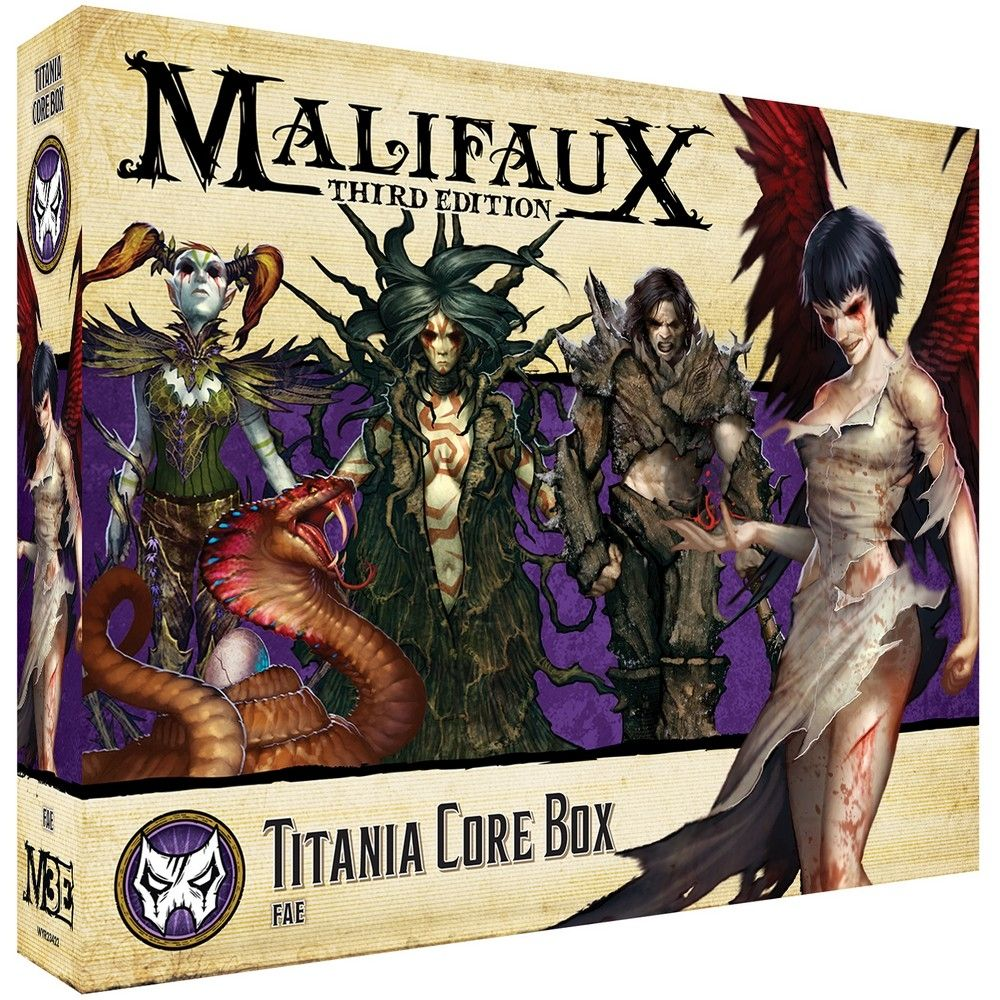Titania Core Box - M3e Malifaux 3rd Edition