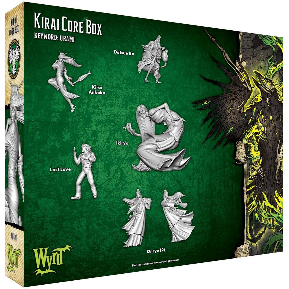 Kirai Core Box - M3e Malifaux 3rd Edition