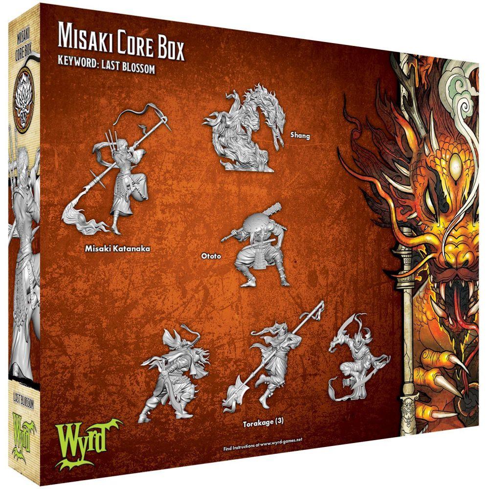 Misaki Core Box - M3e Malifaux 3rd Edition