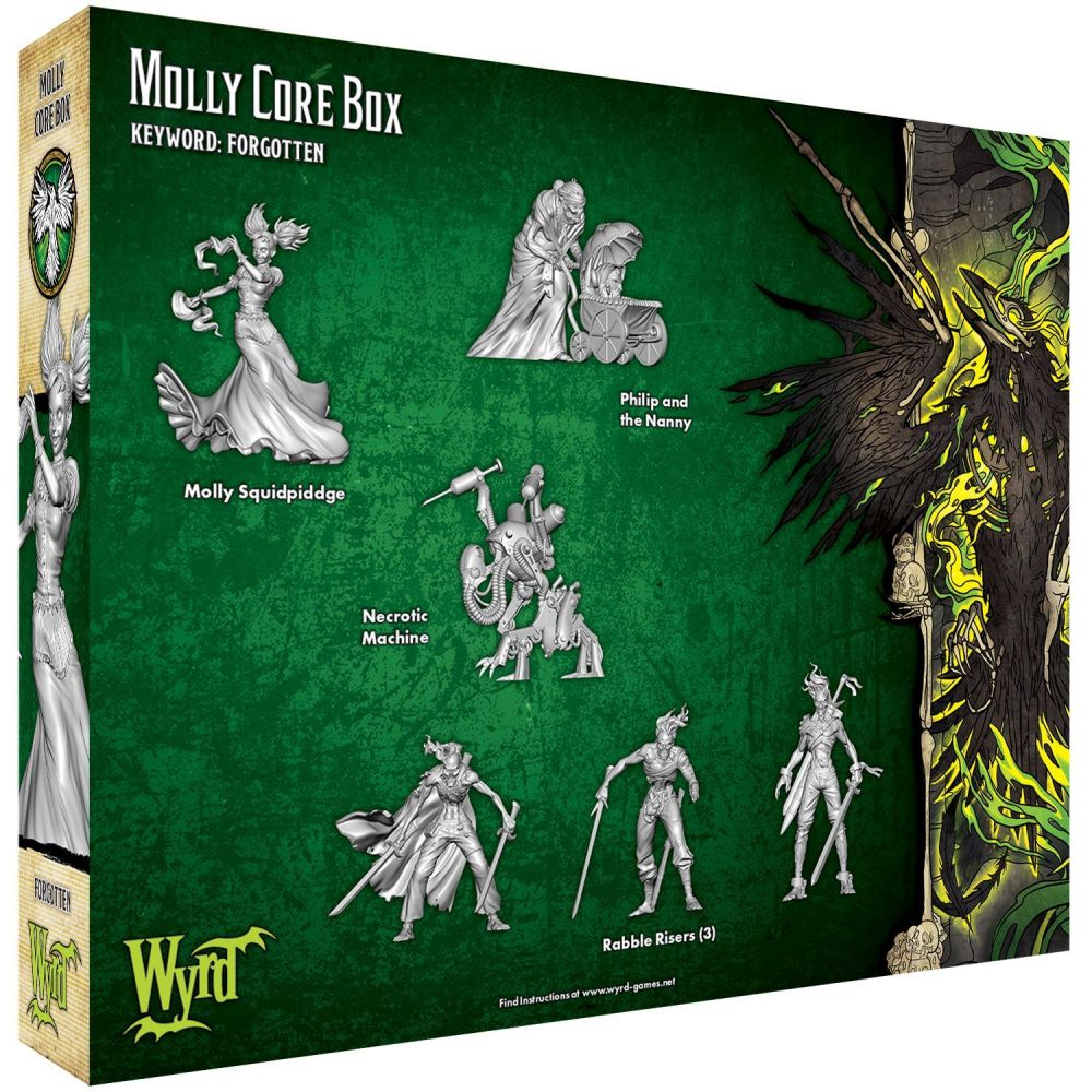 Molly Core Box - M3e Malifaux 3rd Edition