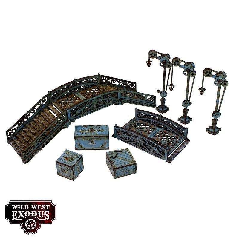 Red Oak Bridge Set