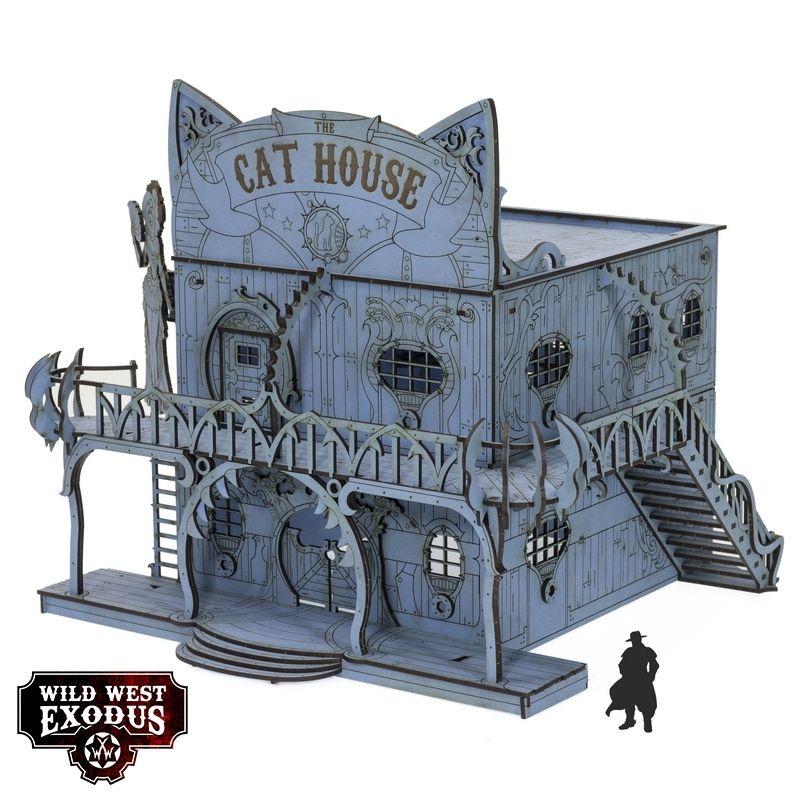Red Oak Cat House
