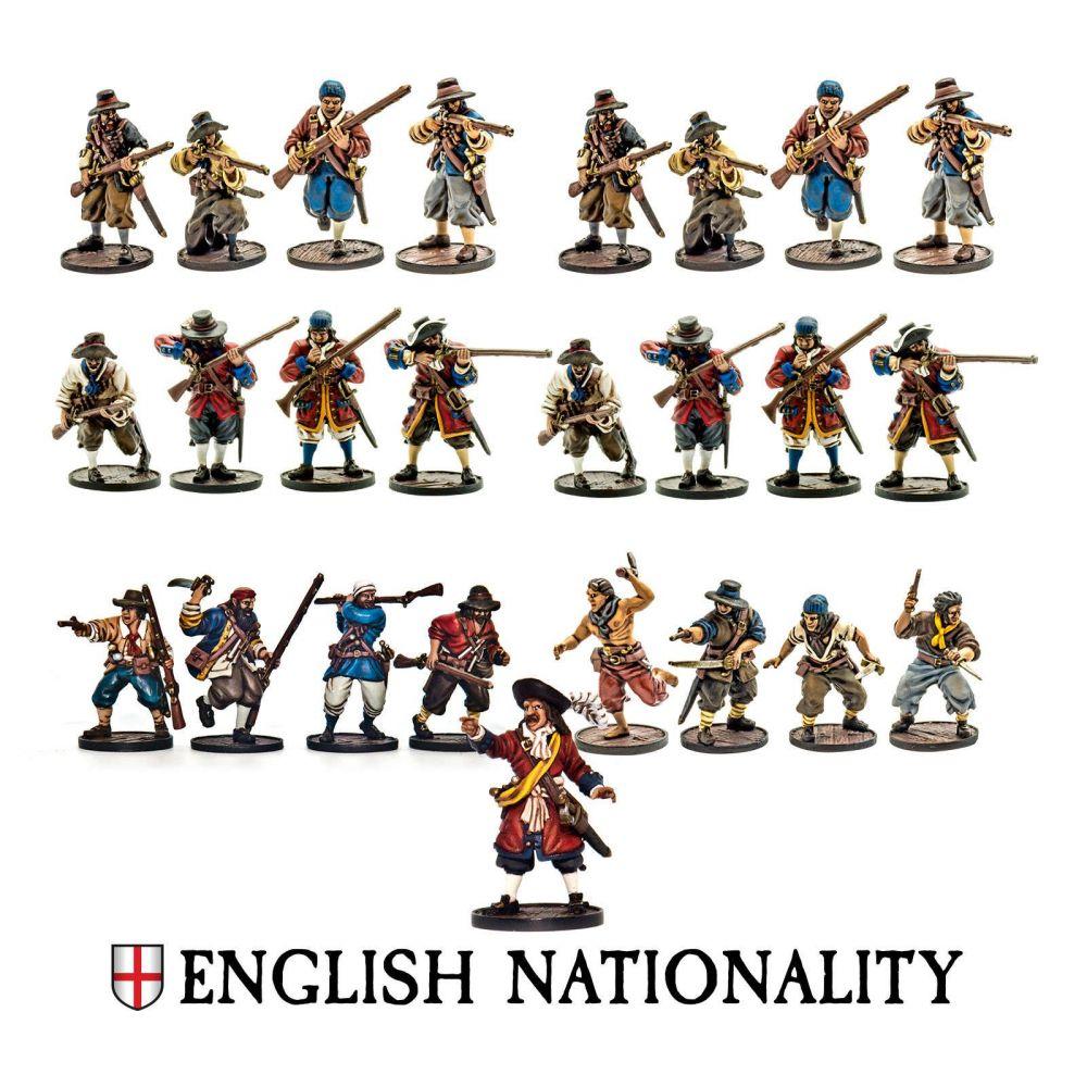 English Nationality Set