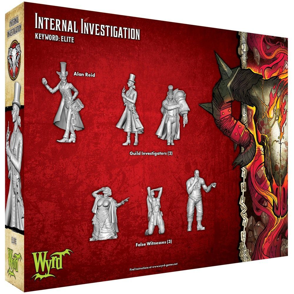 Internal Investigation - Malifaux 3ed