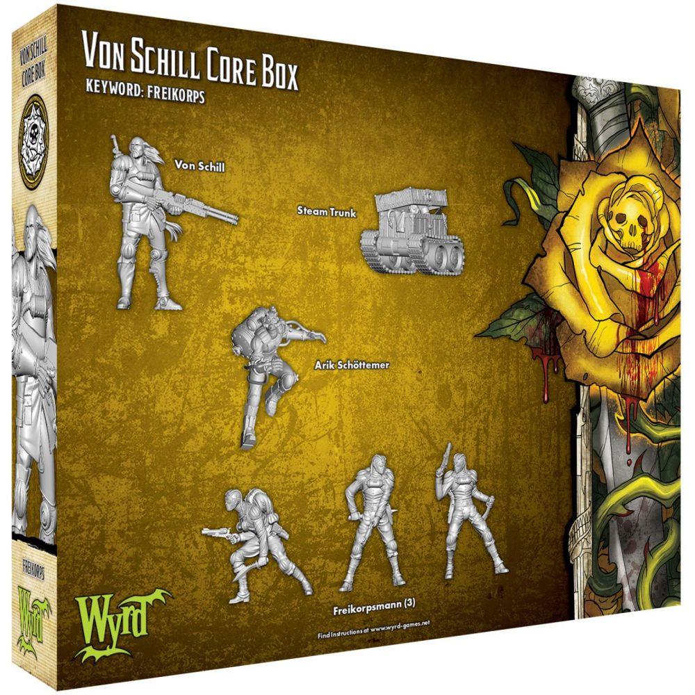 Von Schill Core Box - M3e Malifaux 3rd Edition