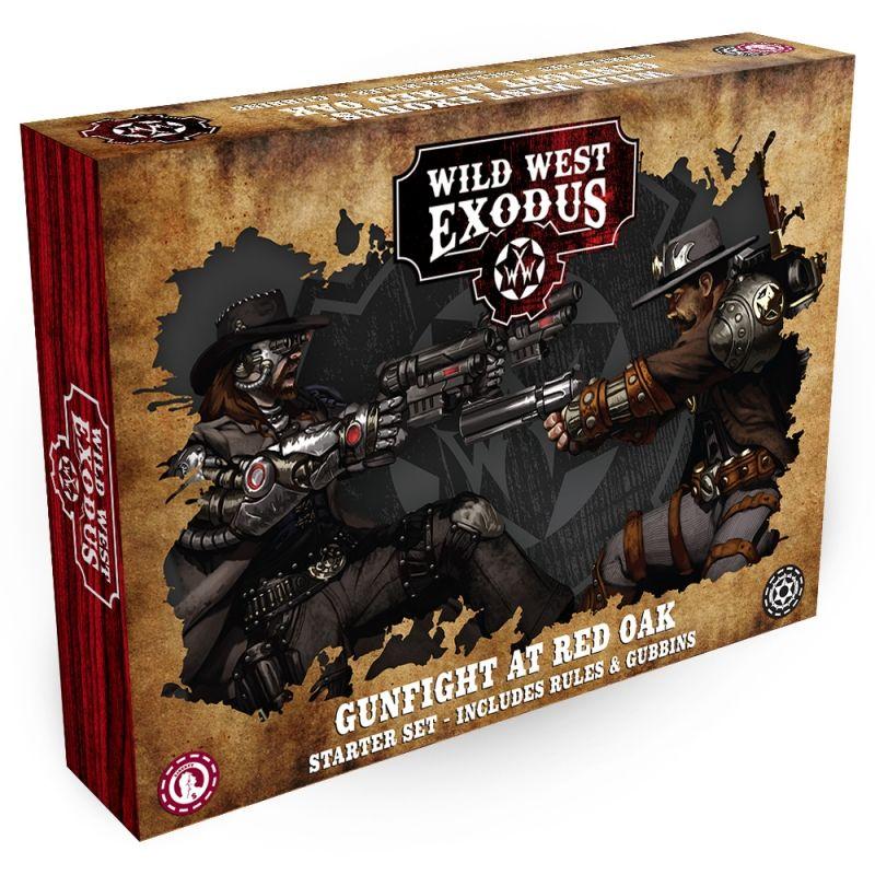 Wild West Exodus: Gunfight at Red Oak Starter set pro dva hráče