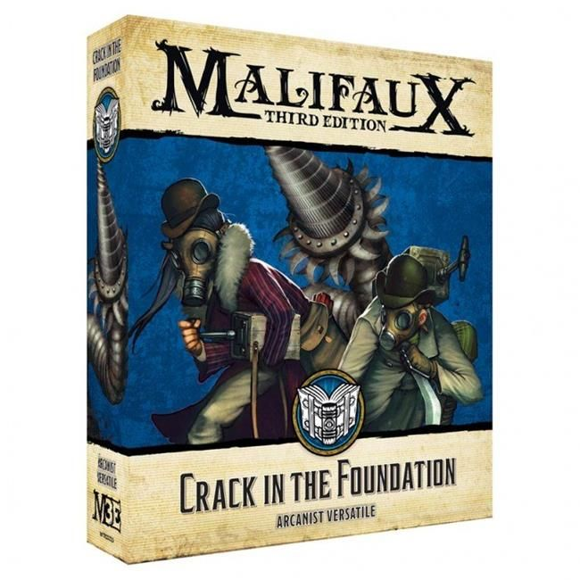 Crack in the Foundation - Malifaux 3ed