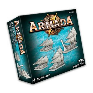 KoW Armada Orkové podpůrná flotila
