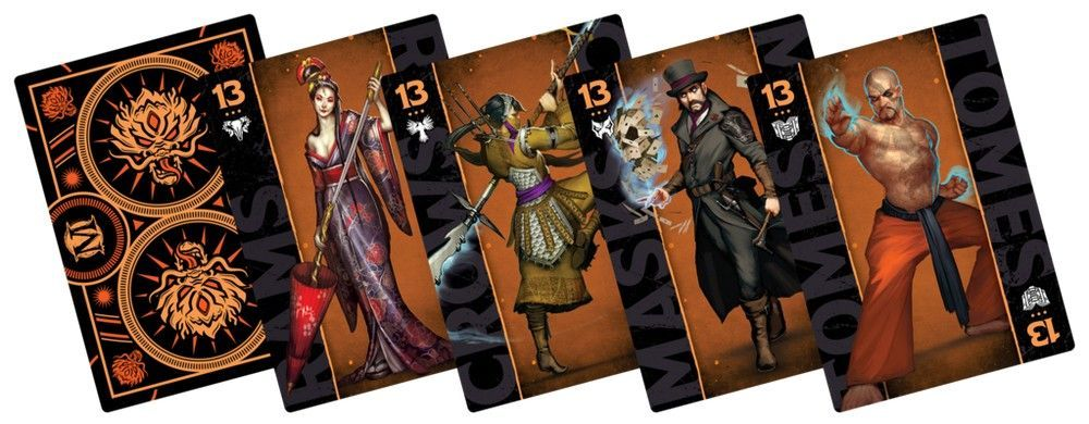 Ten Thunders Fate Deck - Malifaux 3ed