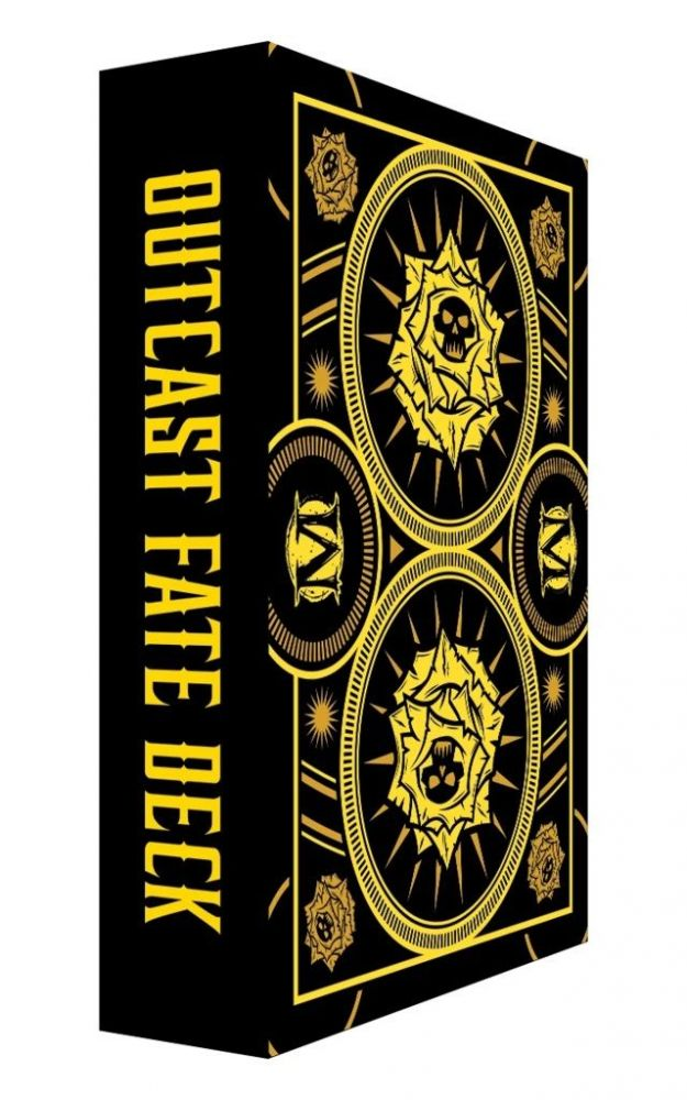 Outcast Fate Deck - Malifaux 3ed