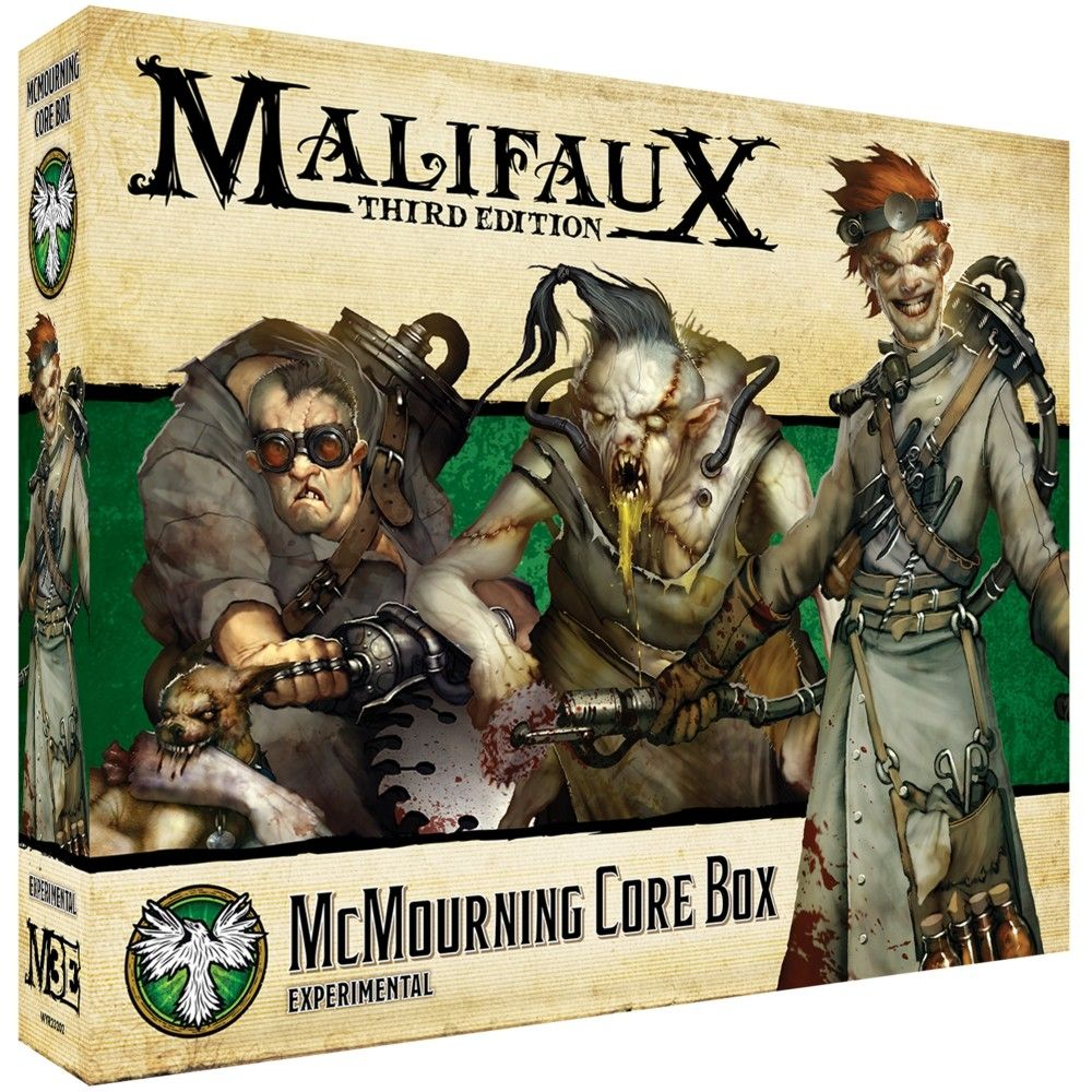 McMourning Core Box - M3e Malifaux 3rd Edition