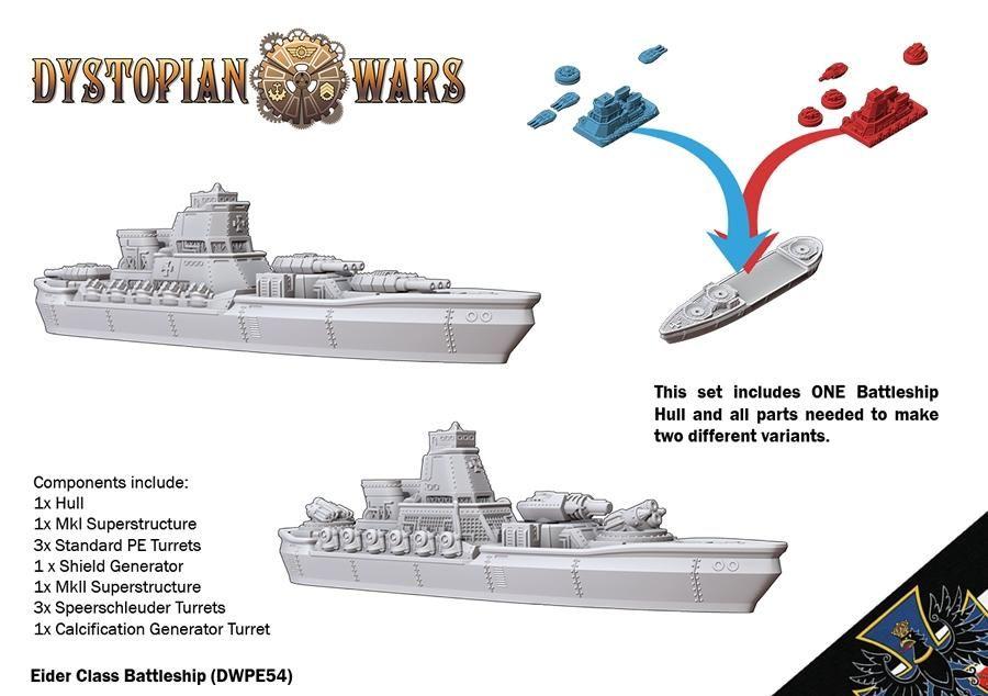 Eider Class Battleship: DW 2.5