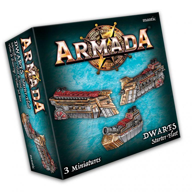 KoW Armada Trpaslíci startovní flotila