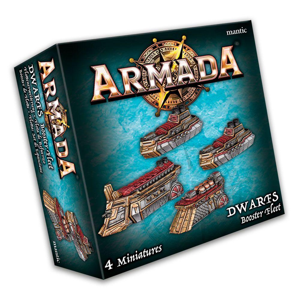 KoW Armada Trpaslíci podpůrná flotila
