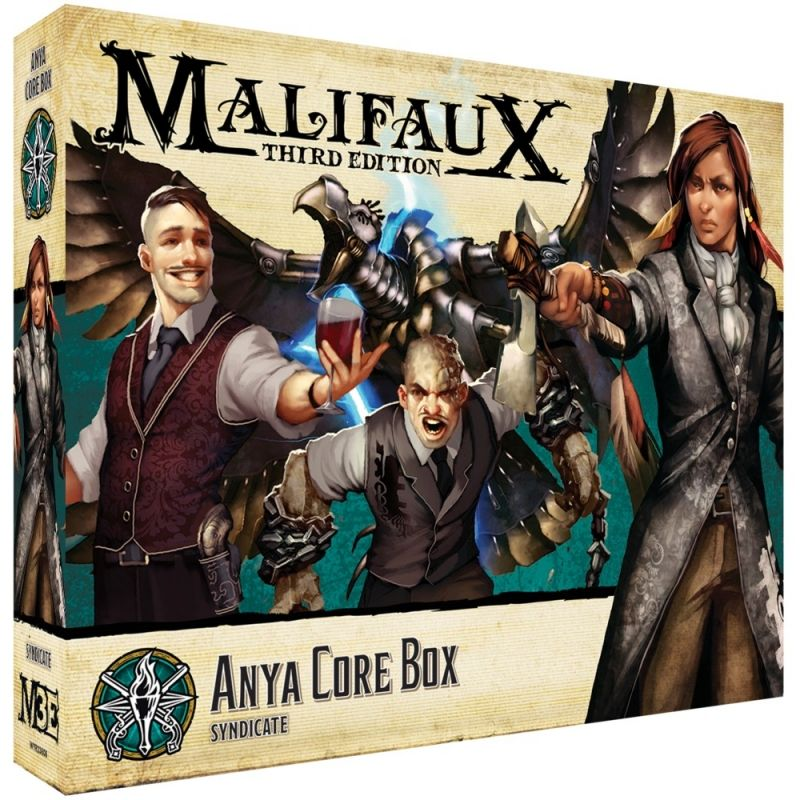 Anya Core Box - M3e Malifaux 3rd Edition
