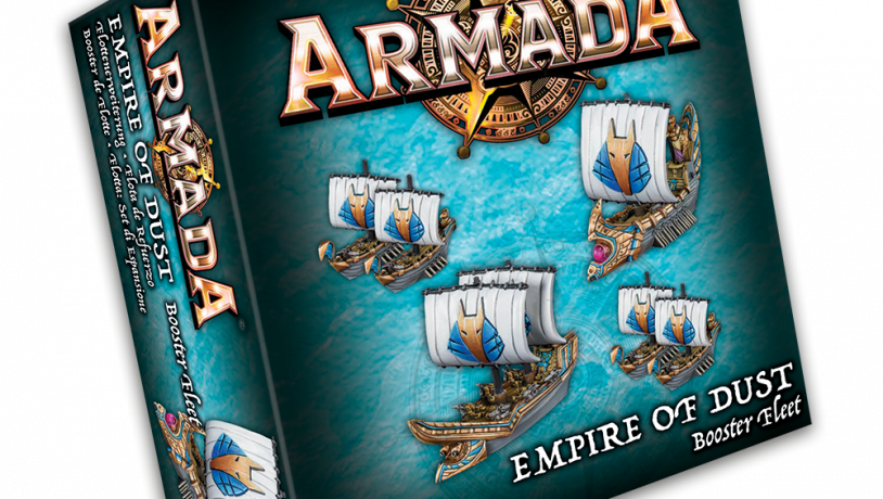 KoW Armada Empire of Dust podpůrná flotila