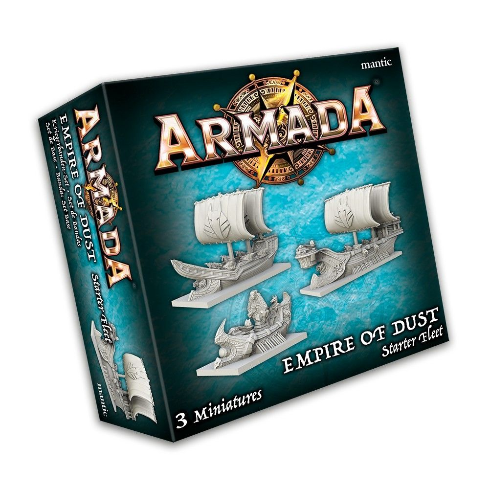 KoW Armada Empire of Dust startovní flotila