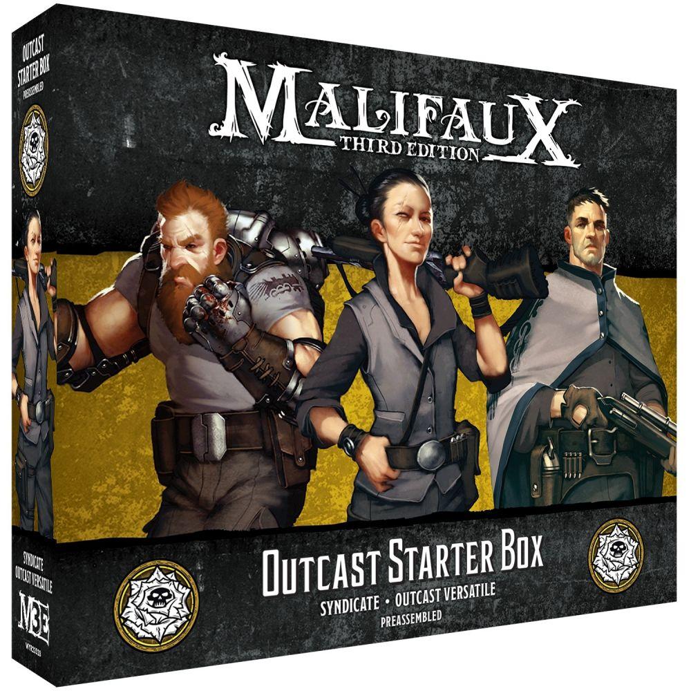 Outcast Starter Box - M3e Malifaux 3rd Edition