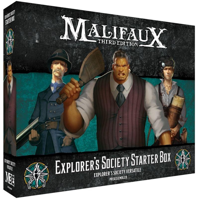 Explorer's Society Starter Box - M3e Malifaux 3rd