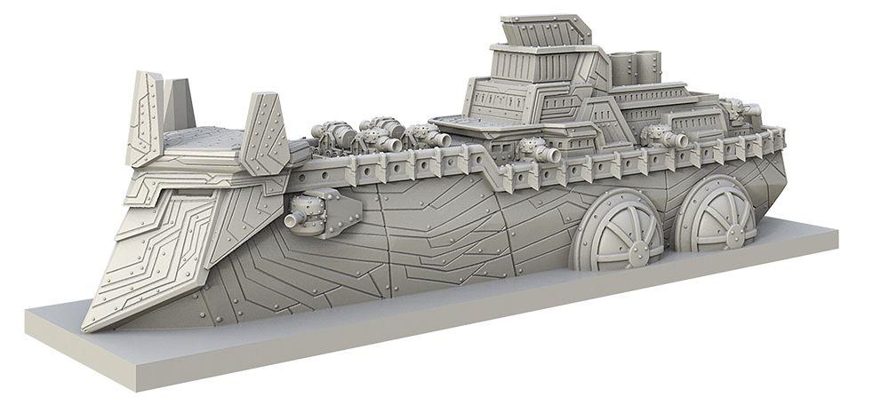 KoW Armada Dwarf Dreadnought
