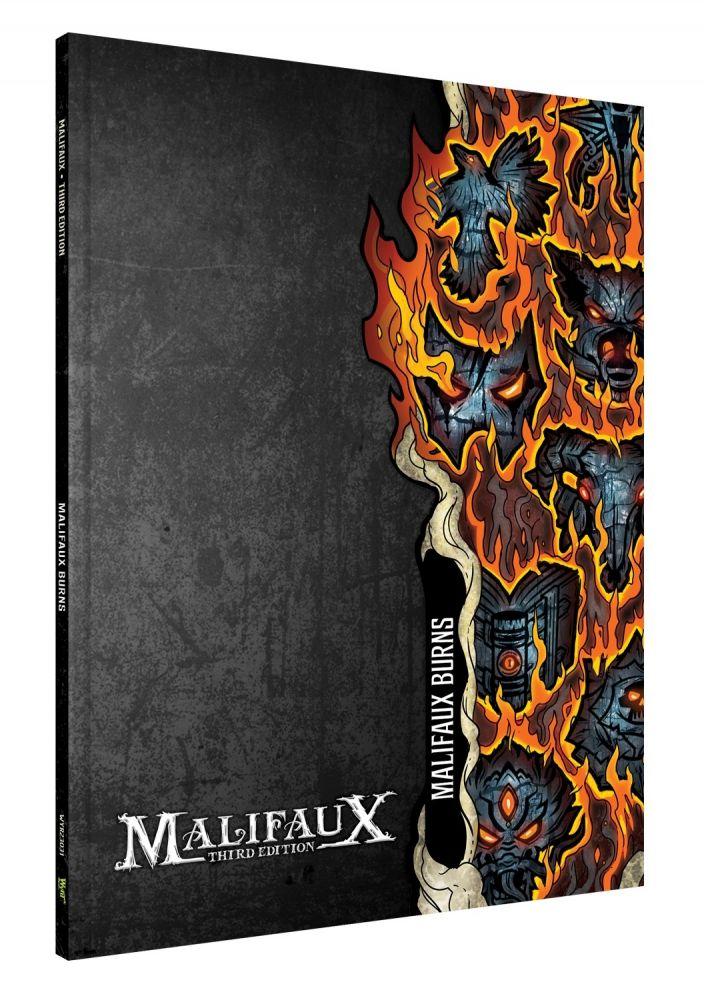 Malifaux Burns Expansion Book - Malifaux 3ed