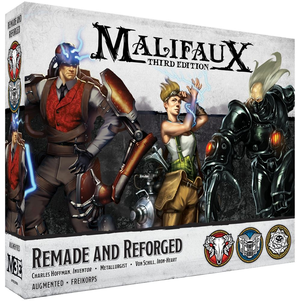 Remade and Reforged - Malifaux 3ed.