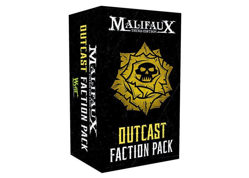 Outcast Faction Pack - M3e Malifaux 3rd Edition