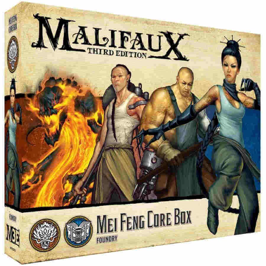 Mei Feng Core Box - M3e Malifaux 3rd Edition