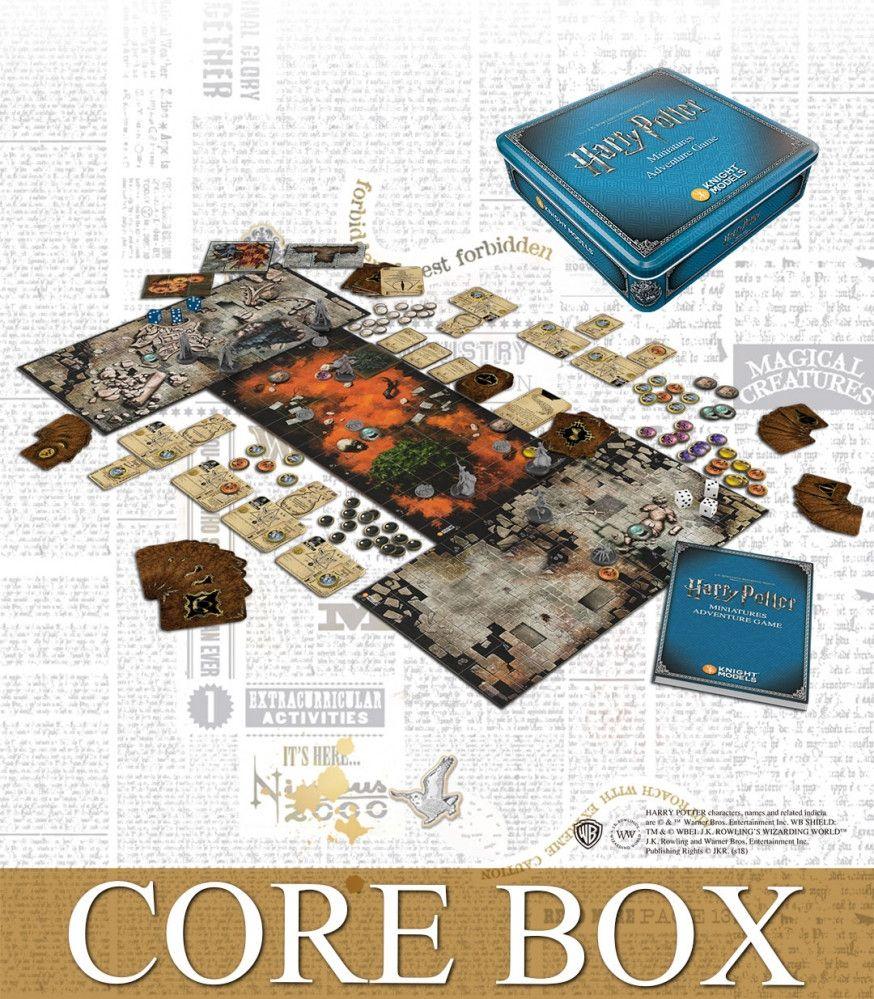 Harry Potter Miniatures - 2e: Adventure Game Core Box 2nd Edition