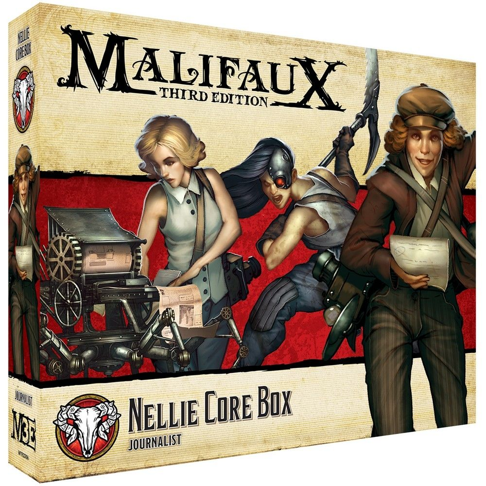 Nellie Core Box - M3e Malifaux 3rd Edition