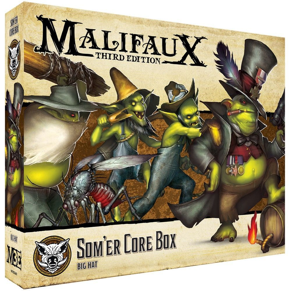 Som'er Core Box - M3e Malifaux 3rd Edition