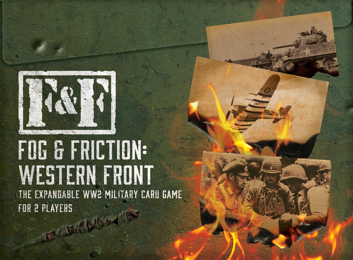 Fog and Friction - WW2 card game