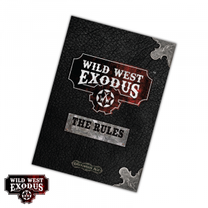 Wild West Exodus Rulebook 2nd Edition - English